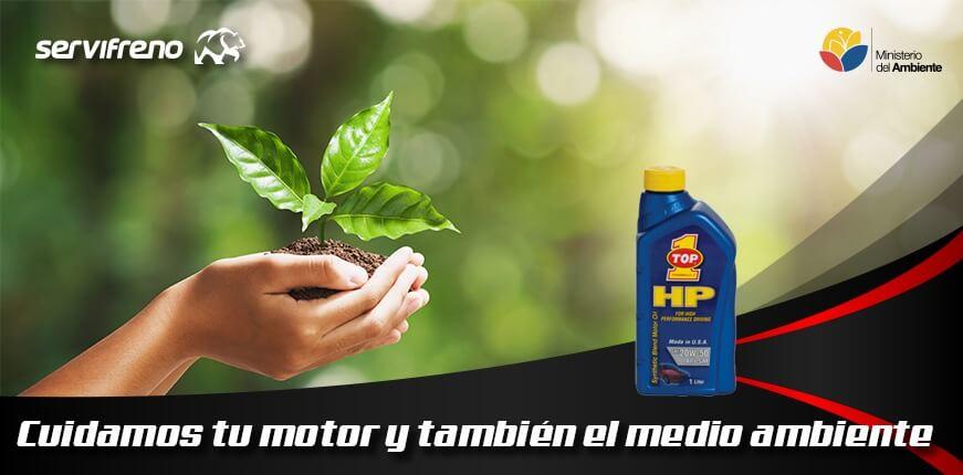 cuidamos tu motor y tambien el medio ambiente
